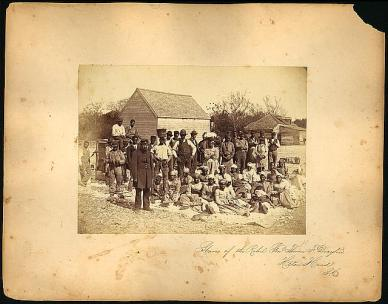 Slaves of Rebel Genl Hilton Head, LoC